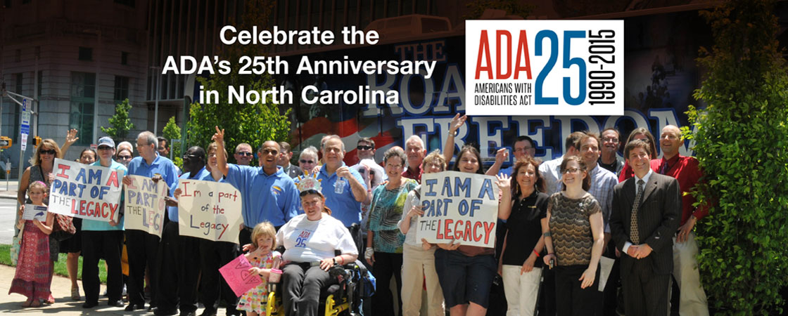 Join the Greater Triangle's ADA Celebration – Tuesday, July 21, 6:30 PM