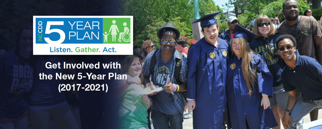 Get Involved with the new 5-Year Plan