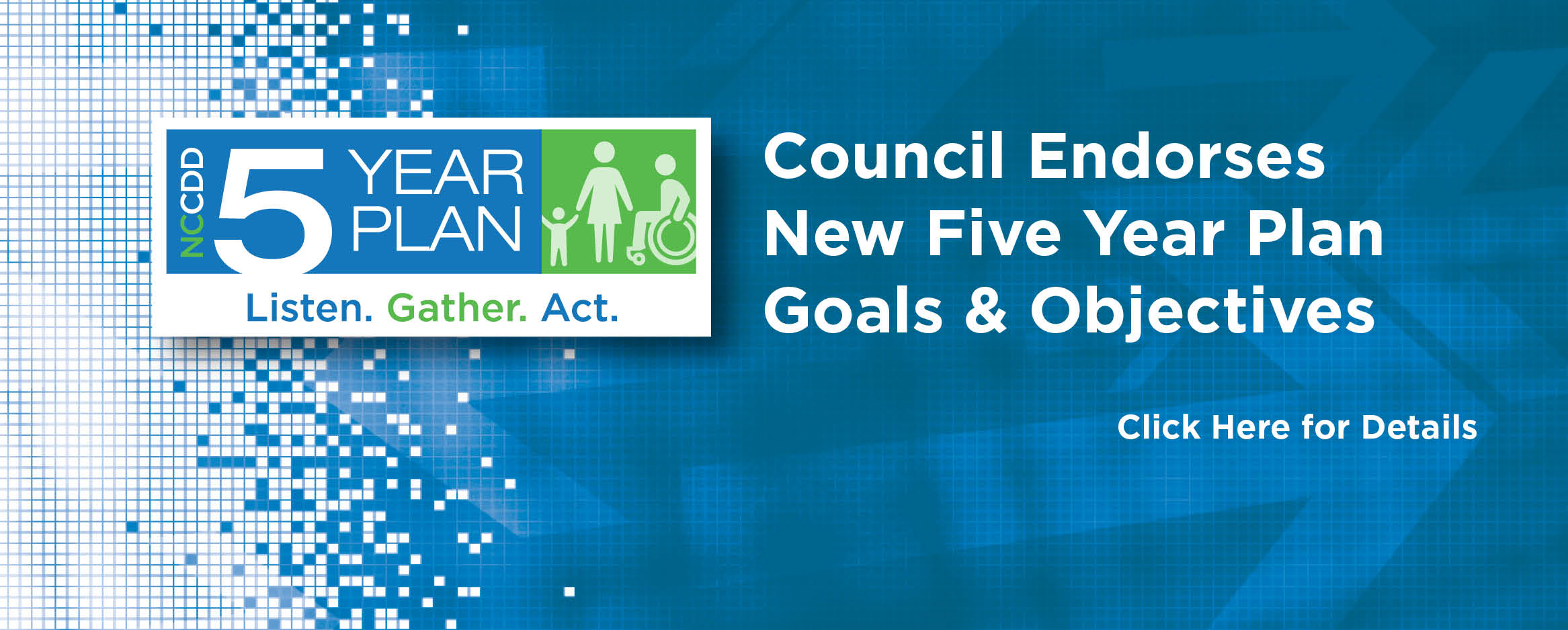 Council Endorses New Five Year Plan Goals & Objectives