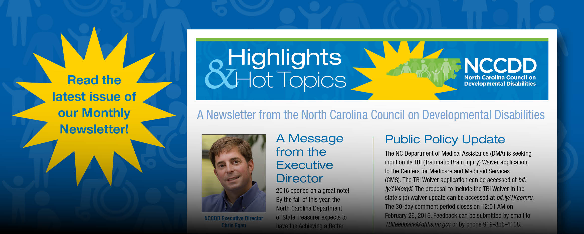 Read the latest issue of our Monthly Newsletter - Highlights & Hot Topics!