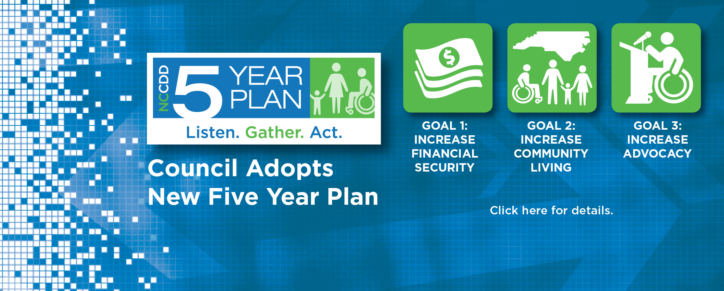 Council Adopts New Five Year Plan