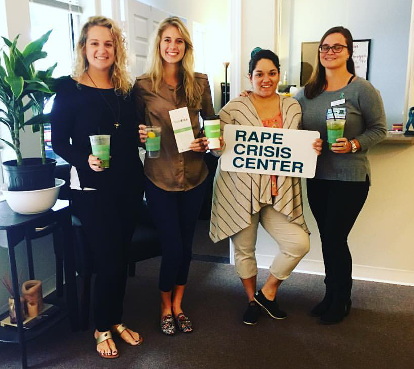 Domestic Violence and Sexual Assault initiatives supports the Rape Crisis Center