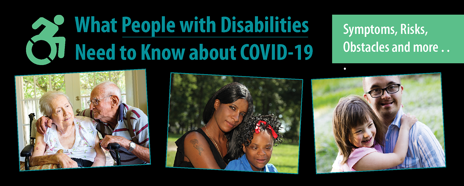 What People with Disabilities  Need to Know about COVID-19