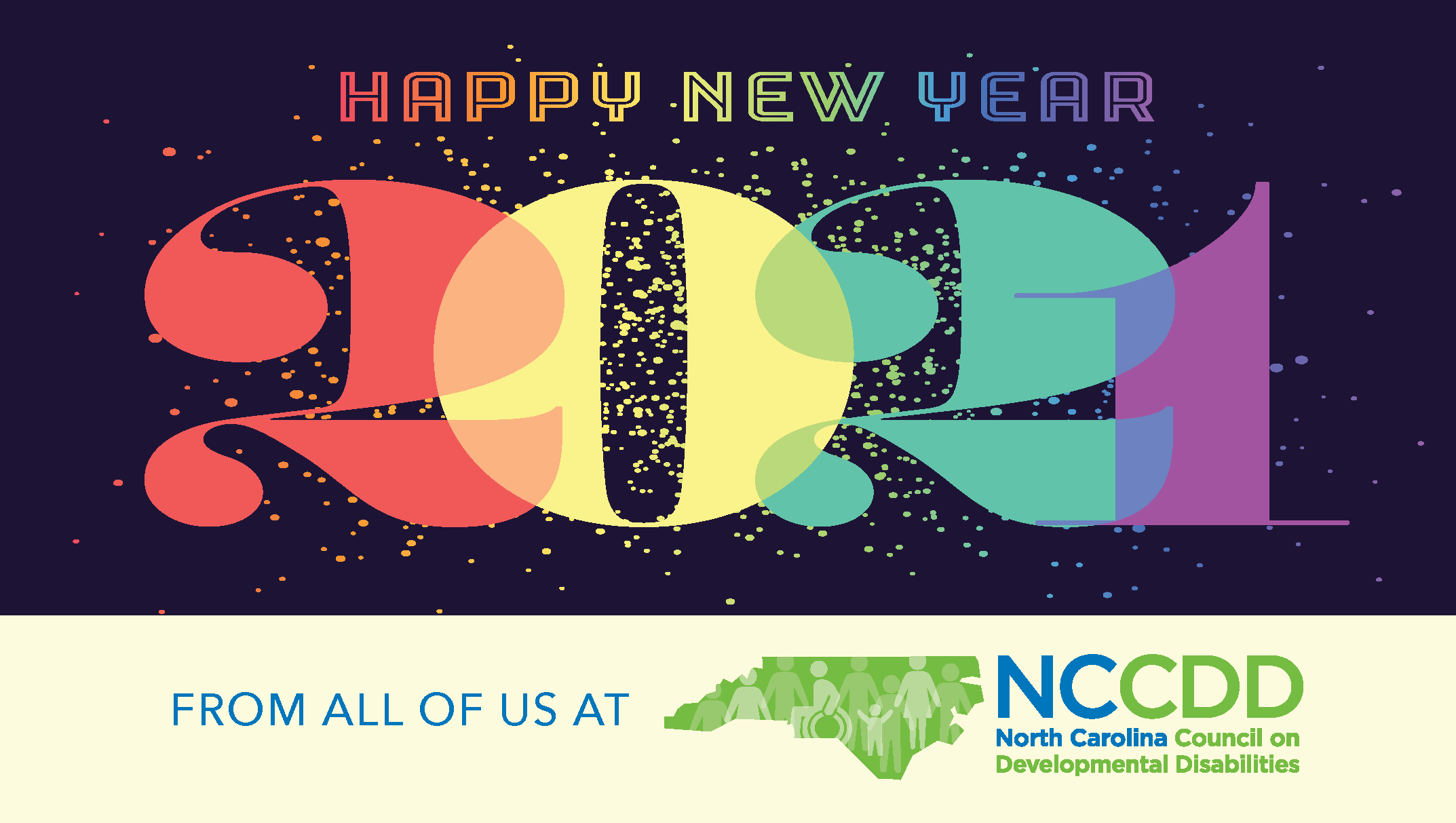 Happy New Year from all of us at NCCDD