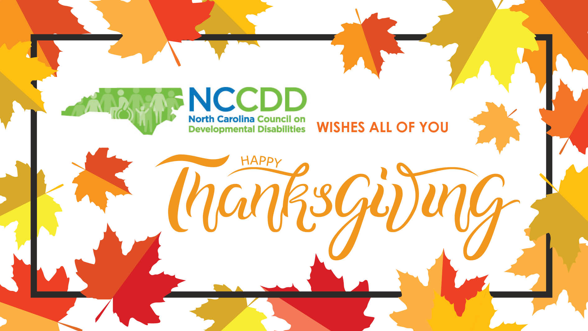 NCCDD Happy Thanksgiving 2018