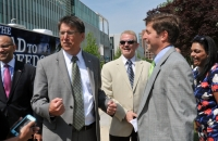 Governor McCrory stops by the ADA Tour in Raleigh