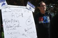 Tom Olin recommits to the ADA Pledge